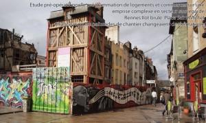 Etude pré-opérationnelle implantation logements et commerces