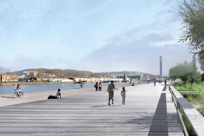 Rouen Friche industrielle et portuaire
